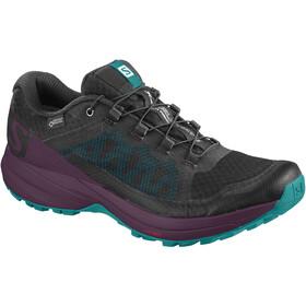 Salomon W's XA Elevate GTX Shoes black/potent purple/tropical green